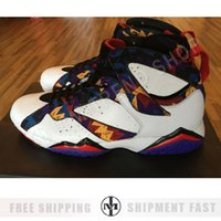 Wholesale Pvc Fabric Offers - New Retro 7 Basketball Shoes Men Women Sneakers Replica Zapatos Mujer Homme Retros Shoes New 7s VII Special offer Top quality