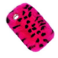Moda Senhora Phone Case Inverno morno Fluffy cabelos Fuzzy telefone caso com diamante Bling para Iphone 5s 6 6s mais 7 7plus Galaxy S6 S7 S7 Edge