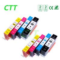 Wholesale Deskjet Cartridges - CTT 8PCS Ink Cartridges 655XL Compatible For HP655 HP 655 655XL HP Deskjet 3525 4615 4625 5525 6520 6525 6625 Printer