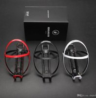 Wholesale White Carbon Cages - 18g Durable SUPERLIGHT Lightweight Carbon fiber bottle cage matte black water holder water cages free shipping