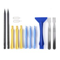 Wholesale Tool For Opening Tablet - 13 in 1 Metal + Plastic Opening Repair Pry Tool Spudger Screwdrivers Tools Set Kit For Tablet Cellphone Mobile Phone