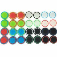 Wholesale Xbox One Caps - colorful Rubber Ring Gel Analogue Noctilucence Silicone Colorful Cap Thumb Stick Joystick Grip For Sony PS4 PS3 Xbox 360 Xbox one Controller