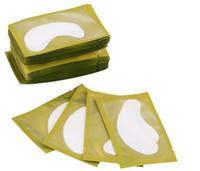 neue augenauflage groihandel-Neue Papierpatches Eyelash Under Eye Pads Wimpernverlängerung Papierpatches Augentipps Sticker Wraps Make Up Tools