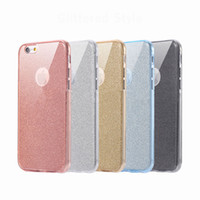 Wholesale Bling Blackberry Covers - Glitter Case for iPhone 8 Bling Bling Fashion Cellphone Cover for iPhone X 7 Plus 6 6s