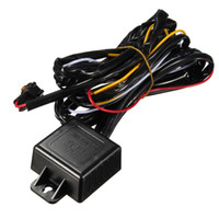 Relais De Puissance De Voiture Pas Cher-Nouveaux automoteurs LED Daytime Running Lights DRL Relay Harness Power Controller On Off Dimmer Synchronous Former Car Steering Lamp