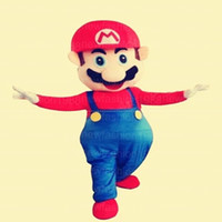 Wholesale Super Mario Characters Fancy Dress - High quality Super Mario Mascot Costume Popular Cartoon Character Costume For Adult Fancy Dress Halloween carnival costumes