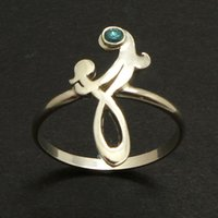 Wholesale Children Day Gift Ideas - Mother and Child Infinity Knot Ring Celtic Mother's Day Jewelry Gift ideas for Mother YLQ0466