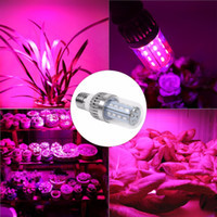 Wholesale Led Ufo Grow E27 - 18W 28W 42W 54W 60W E27 LED Grow Light RED+BLUE Corn Bulb Hydroponic Plant Flower Veg Grow Light Lamp For Greenhouse