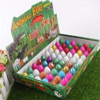 Wholesale toy trumpets resale online - Queer Dinosaur Egg Cracks Grow Broken Shell Water Hatching Toy Children Swells Hatching Trumpet Eggs Trial Order hc C R