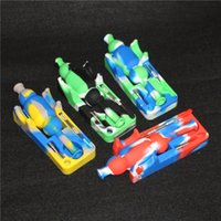 Wholesale Micro Tool Box - 10mm Silicone Mini Nectar Collector kit with titanium tip and dabber tool for Honey Straw Concentrate Honey Dab Straw Micro Nectar collector