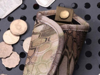 Wholesale Mens Car Key Wallets - High Quality Mens Holder Wallet Case Vintage Car Key Package Men Housekeeper camouflage Bag