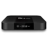 x caixa wifi venda por atacado-Android 8.1 TV BOX TX3 Mini Apoio 1GB 8GB Quad Core Amlogic S905W Media Player Wifi DLNA vs H96 mini-mxq pro