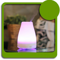 Wholesale Cool Mist Ultrasonic Impeller Humidifier - 2016 100ml Essential Oil Diffuser Portable Aroma Humidifier Diffuser LED Night Light Ultrasonic Cool Mist Fresh Air Spa Amazon Hot Selling