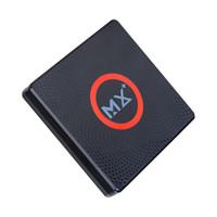 mx tv box quad core al por mayor-Venta caliente Android 6.0 TV BOX MX más S905X quad-core 1GB / 8GB 2.4GWIFI BT4.0 reproductor multimedia inteligente
