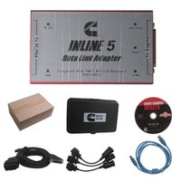Wholesale Links Data - 2017 Hot selling Professional Inline 5 Insite 7.62 For CumminsMulti-language Data Link Adapter For Diesel Engine Free Update AND Active