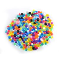 Wholesale 1000pcs pack Crystal Soil Orbiz Growing Water Balls Water Beads Gel Balls for Potted Plants Decoration Wedding Home Decor