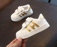 Wholesale Famous Babies - 5colour!2017 Famous brand fashion hot sales baby shoes high quality lighted girls boys shoes Cool casual baby kids sneakers