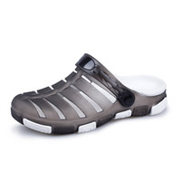 Wholesale Leather Sandal For Boys - hot outdoor men's Sandals cool Slippers Single shoes for men shoes teenager Beach swimming water shoes for boys womens Sandals free shipping