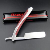 Wholesale Wholesale Knives Japan - Japan Manual Shaver Professional Straight Edge Stainless Steel Sharp Barber Razor Folding Shaving Knife Shave Beard Cutter ZA1957