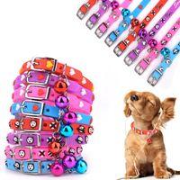 Wholesale Pvc Dog Collar - 1*29Cm 3D Fashion Dog Collars Neck Lead Pet Accessories PVC Love Heart Shape Cat Patterns Bells Adjustable Design Mixed Colors