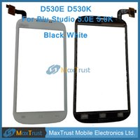 Wholesale Top Quality quot For Blu Studio K D530K E D530E Touch Screen Digitizer Glass Panel Sensor Black White Color