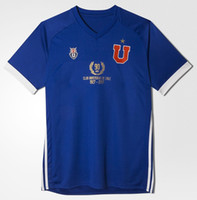 Wholesale U Shorts - LA U 2017 home JERSEY EMBROIDERY PATCH CHILEAN LEAGUE 2017 UNIVERSIDAD DE CHILE 1927-2017 90 ANOS JERSEY