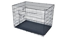 "Wholesale Folding Crates - Black 30"" 2 Doors Pet Folding Suitcase Dog Cat Crate Cage Kennel Pen"