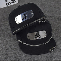 Wholesale Naruto Hats - Wholesale- 2017 SELLWORLDER 9Stlye Adults Naruto Baseball Caps Cartoon Character Casual Ring Hip-hop Hats & Caps
