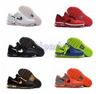 Wholesale Max Size - High Quality 2017 New Arrival Mens Maxes Shoes Men Sneaker Maxes 2017 Mens Running Sport Shoes Maxes BENGAL Orange Grey KPU Size 47