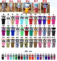 Wholesale Camouflage Stockings - Camo YETI 30oz Rambler Tumbler Cups Red White and Blue with the Star Flag Rose Skull Leopard Camouflage Insulated Mugs IN STOCK