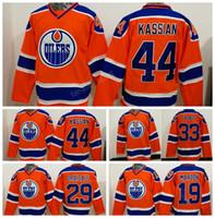 Wholesale Men S Maroon - 2017 New Style 33 Cam Talbot Jersey Men Edmonton Oilers 19 Patrick Maroon 44 Zack Kassian Hockey Jerseys Ice Orange 29 Leon Draisaitl