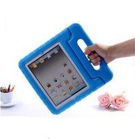 Wholesale Ipad4 Case Stand - For Apple iPad 2 3 4 EVA Foam Shockproof Case for iPad2 ipad3 ipad4 Funda Coque Children Kids Handle Stand Protective Cover