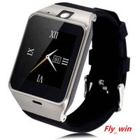 Wholesale Multi Sim Mobiles - Smart Watches DZ09 With Bluetooth Wristbrand Android SIM TF card Smart watch Intelligent Mobile Phone Watch Multi-language With Camera Retai