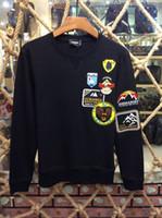 Wholesale Outwear Hoody - 2018 New Style Men's Pullover Round Collar DSQ Hoodies Sweatshirts Jacket Length Sleeve Print Hoody Mens Brand D2 Sportwear Outwear