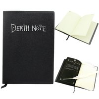Wholesale- Death Note book Lovely Fashion Anime Theme Death Note Cosplay Notebook Nouvelle école Large Writing Journal 20.5cm * 14.5cm