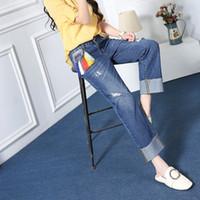 Wholesale Cheap Overalls For Women - Factory supply women fancy jeans brazilian jeans women women in tight blue jeans jean overalls for women cheap