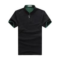 Wholesale Green Bakery - John'S Bakery Polo Shirt Men 2017 Brand Clothing Solid Color Polo Shirt Cotton Short Sleeve Poloshirt Men Camisa Masculina XZ-042