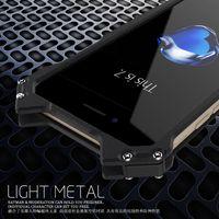 Wholesale Iphone Heavy Duty Metal Case - R-JUST BATMAN Series Luxury Doom Heavy Duty Armor Metal Aluminum Mobile Phone Cases For apple iPhone 7 5 5S SE 5C 6
