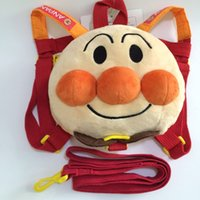 Wholesale Japanese Cartoon Backpack - Cheap spot explosion, original Japanese bread Superman bag, children's children's environmental protection cotton, cute Plush Backpack