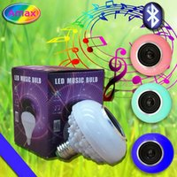 Wholesale Smart Buy Wholesale - led light bulb speaker mini bluetooth 7 color smart changing available 5W 6500K-RGB speaker for iphone samsung LG best buy with retailed box