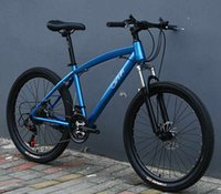 Wholesale Mountain Bicycle Double Suspension - Mountain Bicycle Bike fat tire 24 26 inch 27 speed Adult Child Student Full Suspension Carbon Steel Material Double
