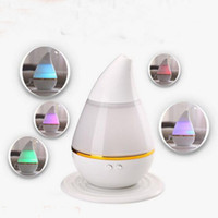 Wholesale Wholesale Cars Air Fresh - Essential Oil Diffuser Portable Aroma Humidifier Diffuser LED Night Light Ultrasonic Cool Mist Fresh Air Spa Aromatherapy with USB