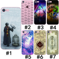 Wholesale Harry Potter Shockproof TPU soft Phone Cases For Apple iPhone S Plus s plus Plus