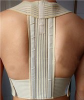 Wholesale Back Corrector Men - 1PCS Hot Magic Stick Hemp Posture Corrector Belt Elasticity Redress Beauty Body Back Brace& Supports Belt For Men Women