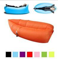 Wholesale Travel Chairs Children - Lounge Sleep Bag Lazy Inflatable Beanbag Sofa Chair, Living Room Bean Bag Cushion, Outdoor Self Inflated Beanbag Furniture