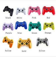 PS3 Wireless Bluetooth Game Controller Game Multicolor Controller Joystick pour Android Jeux vidéo 11 couleurs OOA1936