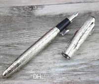 ingrosso disegno penna stilografica di lusso-MB High Quality Best Design Luxury mb Penna stilografica a forma di arco in filo d'argento