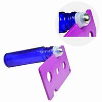 Wholesale Bottle Cap Plastic Opener - Mix Colors Essential Oil Bottle Opener Key Tool Remover For 1ml 2ml 5ml 10ml -100ml Roller Balls and Caps Bottles 10pcs lot