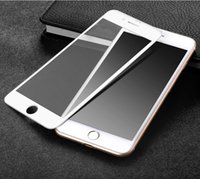Wholesale Iphone Glass For 3d - Full Cover 3D Curved Tempered Glass Touch Screen Glass Film For iphone 6   6 plus   7   7 plus Screen Protector