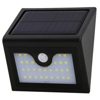 Wholesale Small Wall Led - 28 led new human body infrared induction led lamp body diamond mask small street lamp solar wall lamp solar lights for Outdoor, Door, Garden